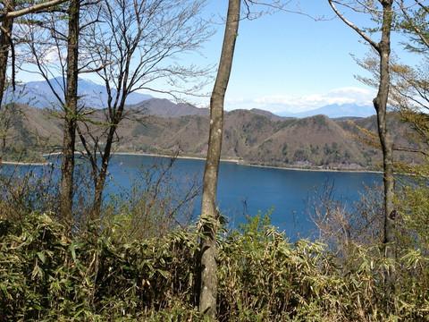 竜ヶ岳にて